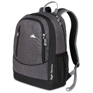High Sierra Wilder Black Armor Laptop Backpack