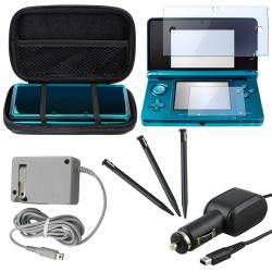 Case/ Screen Protector/ Stylus/ Charger for Nintendo 3DS