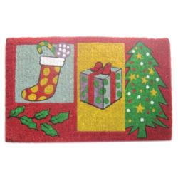 Christmas Gift Door Mat