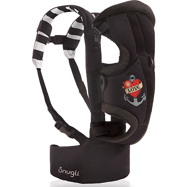 Evenflo Snugli Front and Back Soft Carrier in Love Tattoo