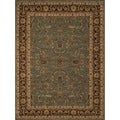 Dorchester Blue/ Brown Rug (7'7 x 10'5)
