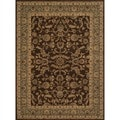 Dorchester Brown/ Blue Rug (7'7' x 10'5')