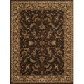 Dorchester Chocolate/ Beige Rug (7'7' x 10'5')