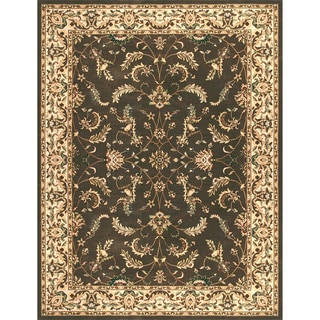 Dorchester Chocolate/ Beige Rug (5'2 x 7'7)