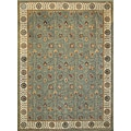 Dorchester Steel/ Beige Powerloomed Rug (7' 7 x 10' 5)