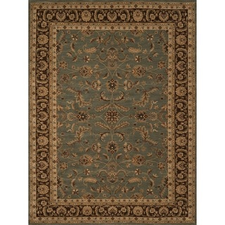 Dorchester Blue/Brown Rug (3'9' x 5'6')