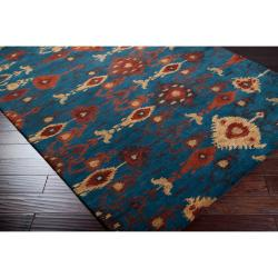 Hand-tufted Aviana Wool Rug (5' x 8')