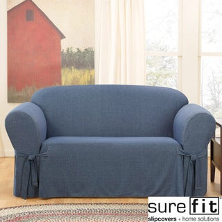 Sure Fit Denim Loveseat Slipcover