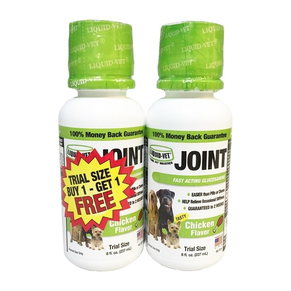 Liquid-Vet Holistic 8-ounce Chicken Flavor Joint Formula (Pack of 2)