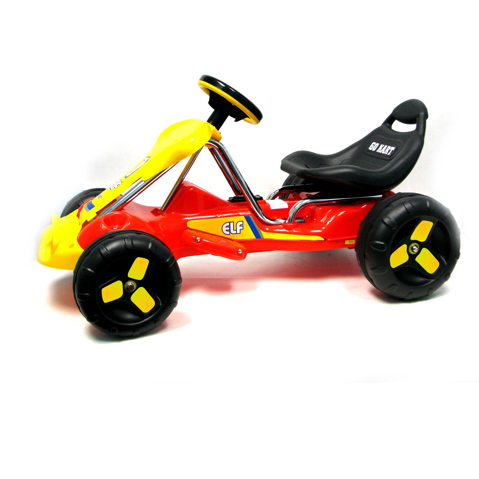 Red Elf Rider Battery Operated Child's Go-Kart