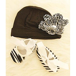 Zebra Print Black and White Gift Set