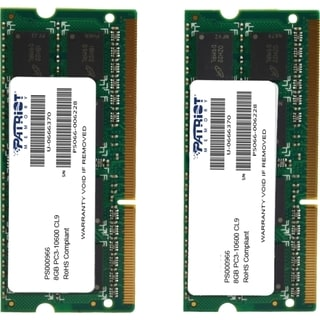 Patriot Memory 16GB (2 x 8GB) PC3-10600 (1333MHz) SODIMM Kit