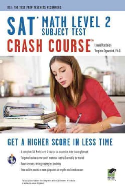 SAT Math Level 2 Subject Test: Crash Course (Paperback)