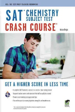 Sat Chemistry Subject Test: Crash Course (Paperback)