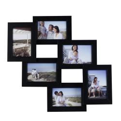 Mellanco 6-Photo Black Collage Frame
