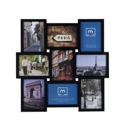 Mellanco 9-Photo Black Collage Frame