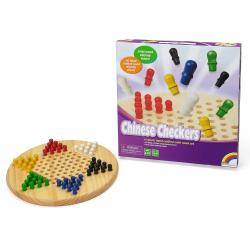 Wooden Chinese Checkers Game Set