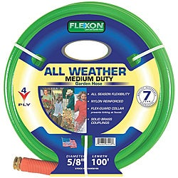 Flexon All Weather (0.625' x 100') Garden Hose