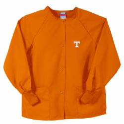 Gelscrubs Orange Unisex NCAA Tennessee Volunteers Nurse Jacket