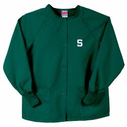 Gelscrubs Hunter NCAA Michigan State Spartans Nurse Jacket