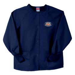 Gelscrubs Unisex NCAA Navy Auburn Tigers Nurse Jacket