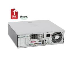HP DC5750 A64X2-2.3GHz 2G 160GB COMBO Windows 7 Professional SFF Computer (Refurbished)