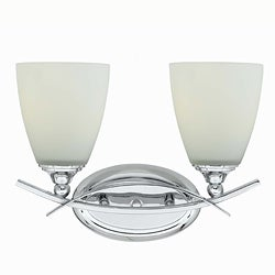 Triarch International Neptune 2-light Chrome Bath
