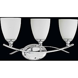 Triarch International Neptune 3-light Chrome Bath Light