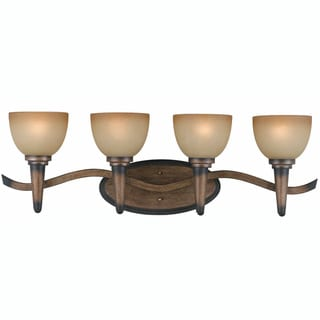 Triarch International Olympian 4-light Torch Bronze Bath Light