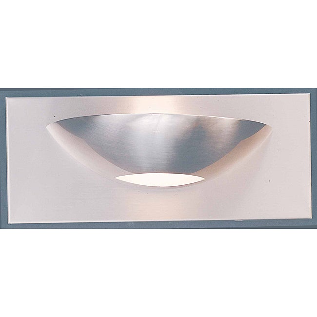 Triarch International Halogen Brushed Steel 1-light Bathroom Fixture
