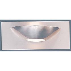 Triarch International Halogen Brushed Steel 1-light  Bathroom Fixture