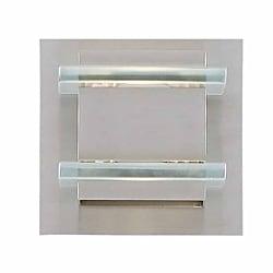 Triarch International Deco Halogen 1-light Brushed Steel Bath Light