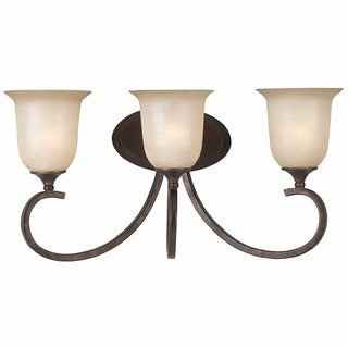 Triarch International La Costa English Bronze 3-light Fixture