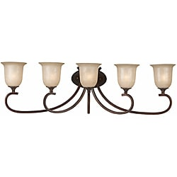 Triarch International La Costa English Bronze 5-light Fixture