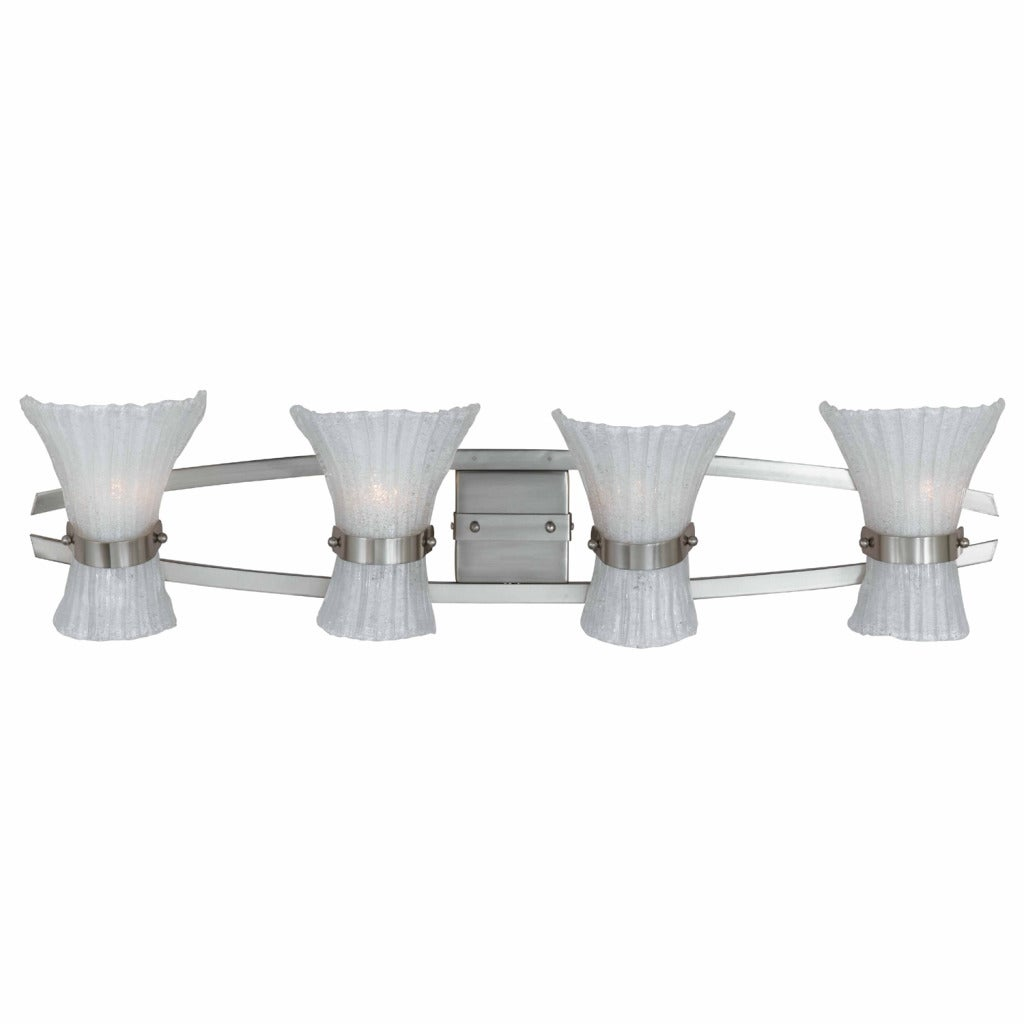 Triarch International Bali Nickel 4-light Fixture