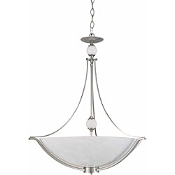 Triarch International Halogen VI 4-light Steel Pendant
