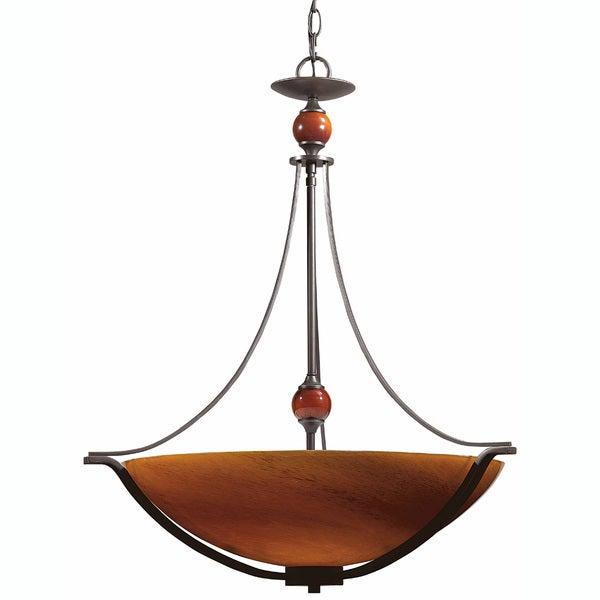 Triarch International Halogen VI 4-light Oil Rubbed Bronze Pendant