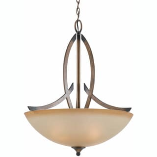 Triarch International 'Olympian' 4-light Torch Bronze Pendant
