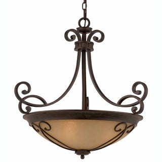 Triarch International Corsica 4-light English Bronze Pendant Chandelier