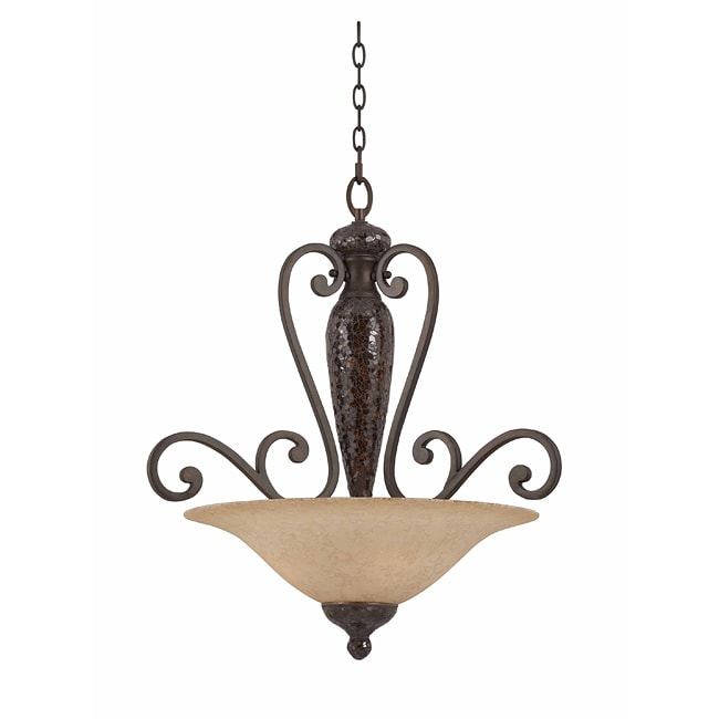 Triarch International Jewelry 4-light Harvest Bronze Pendant Chandelier