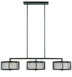 Triarch International Bronze finish Chainlink 6-light Island Light