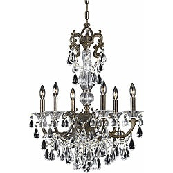 Triarch International Regal English Bronze 6-light Chandelier