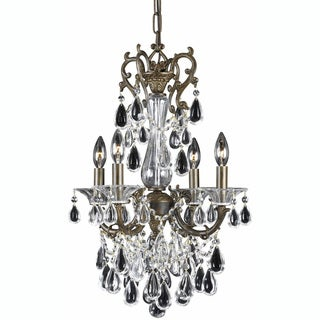 Triarch International Regal English Bronze 4-light Chandelier