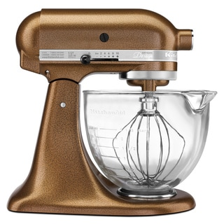 KitchenAid KSM155GBQC Antique Copper 5-quart Artisan Tilt-Head Stand Mixer