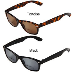 Hot Optix Men's Plastic Fashion Tinted Bi-focal Reading Glasses
