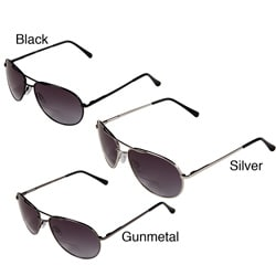 Hot Optix Men's Metal Tinted Aviator Bi-focal Reading Glasses