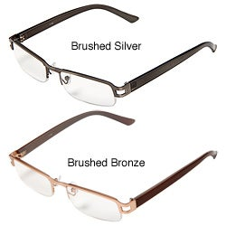 Hot Optix Men's Metal/ Plastic Reading Glasses