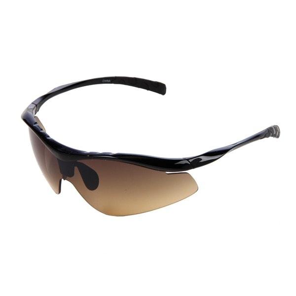 Hot Optix High Contrast Golf Shield Sport Sunglasses