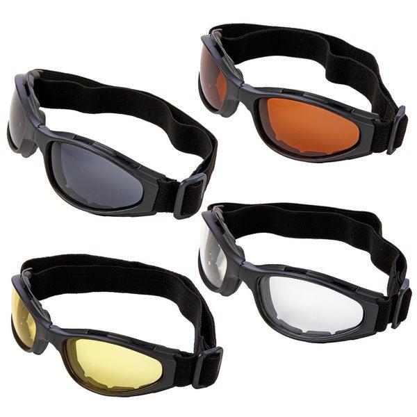 Hot Optix Dual Lens Folding Motorcycle Goggles 8624823
