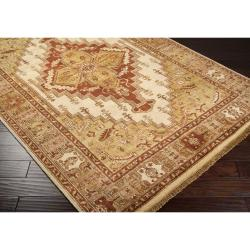 Hand-knotted Beckett Wool Rug (9' x 13')